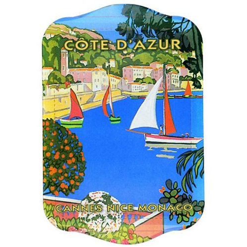Cote D'Azur Mini Metal Tray