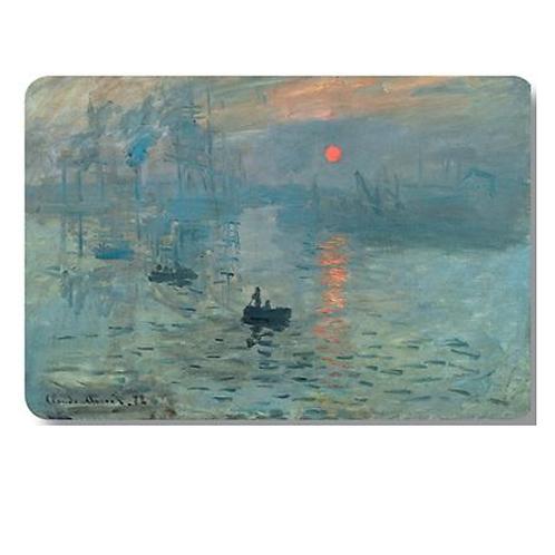 Set of 4 Placemats - Monet Setting Sun