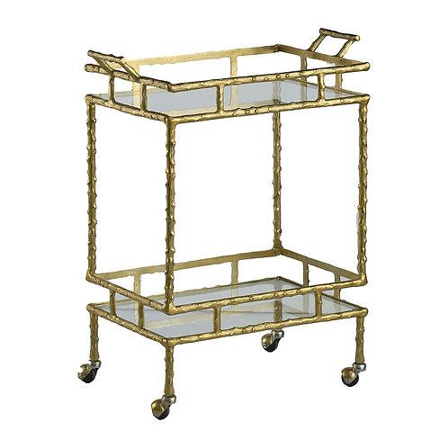 Gold Bamboo Bartcart