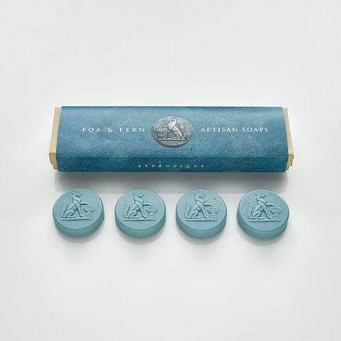 Fox & Fern Intaglio Soaps - Blue Honeysuckle