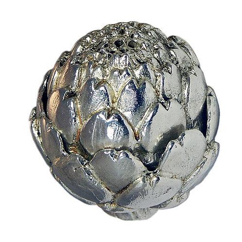 Silver and Gold Artichokes Salt/Pepper Set