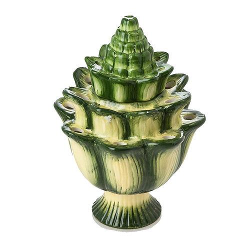 """10"""" Green Artichoke Tulipiere"""