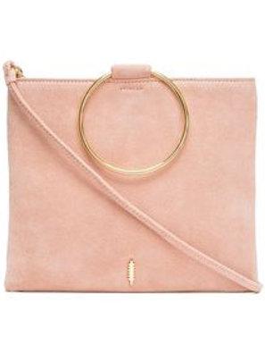Le Pouch Suede Handbag Vintage Rose