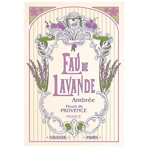 French Tea Towel - Eau de Lavande