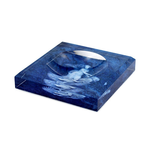 Blue Venus Acrylic Soap Dish