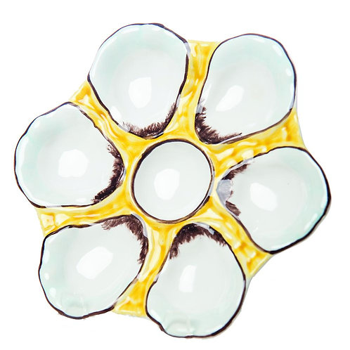 Yellow Oyster Plate