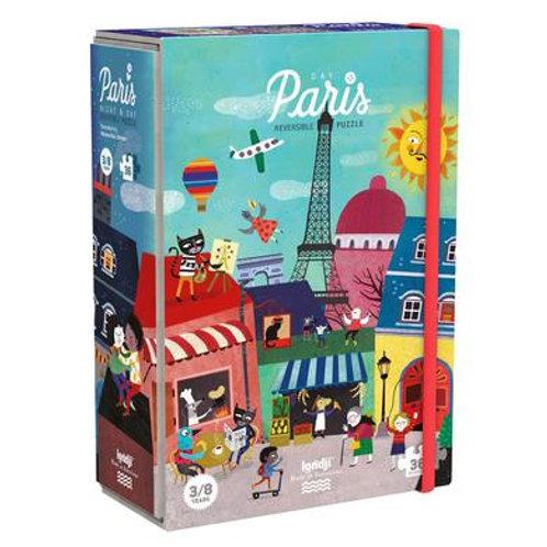 36 pc. Reversible Paris Puzzle