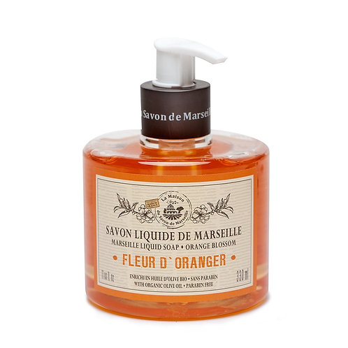 La Maison Savon du Marseille Orange Blossom Hand Soap