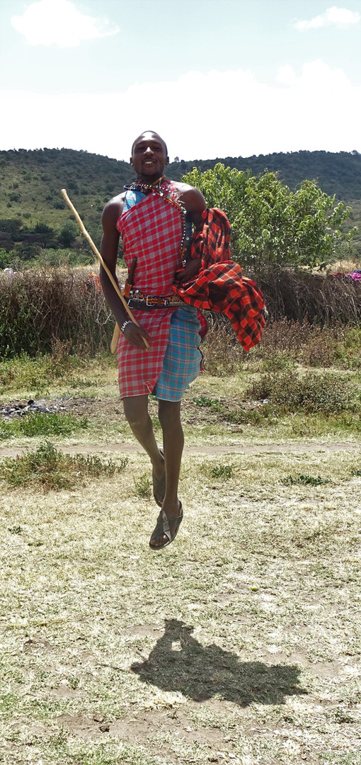 Can you jump higher than this Maasai?