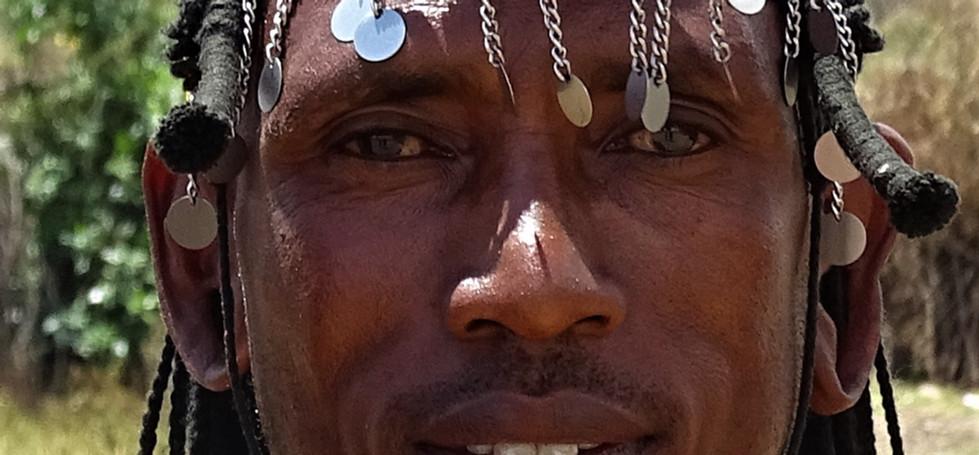 Proud Maasai man