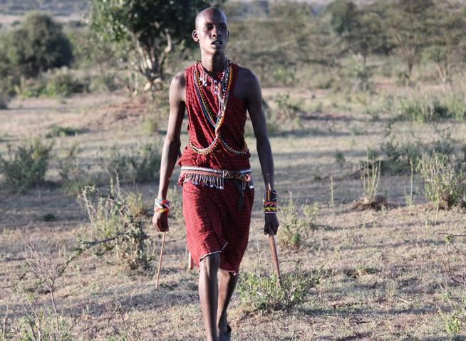 Maasai warrior