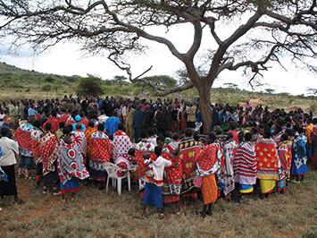 Maasai-church
