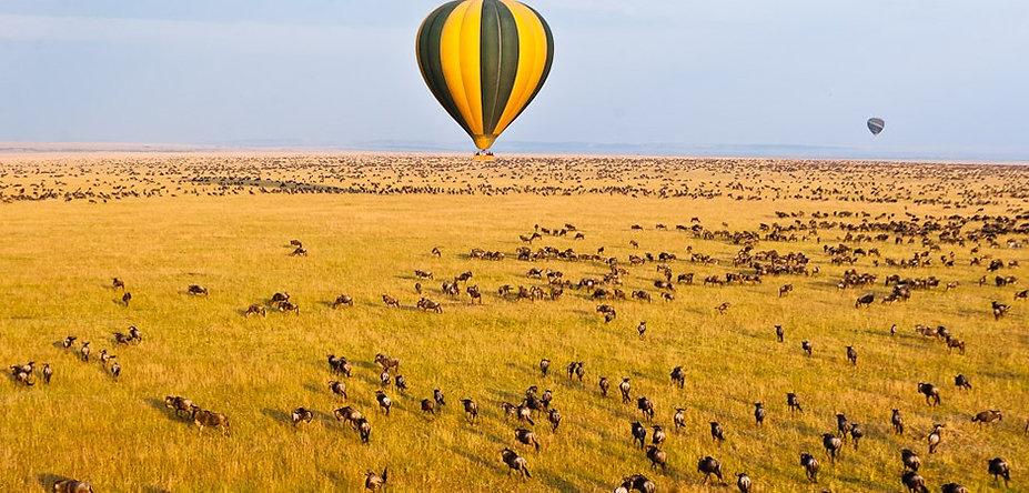 Hot Air Balloon Safari In Masai Mara