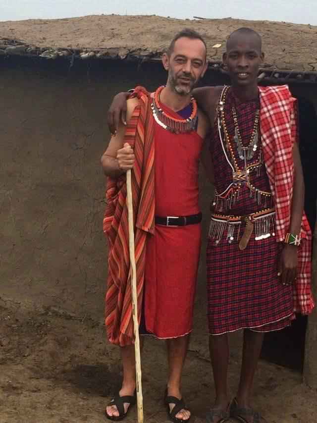 Traditional Maasai house
