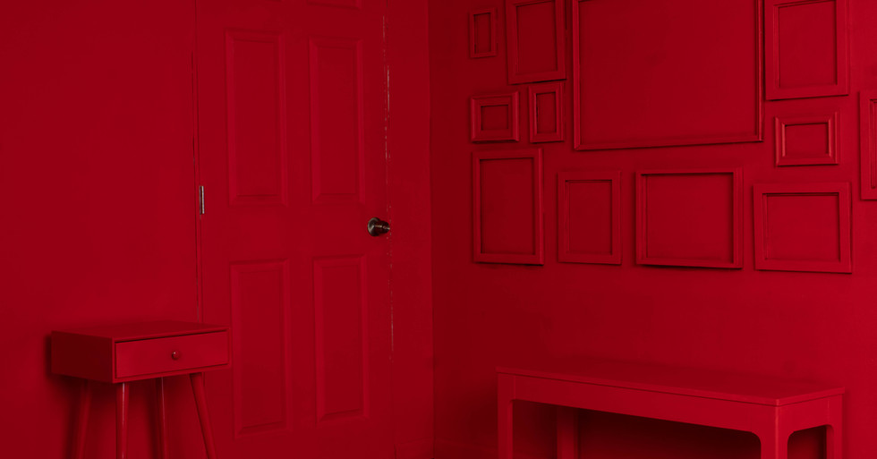 All red corner set