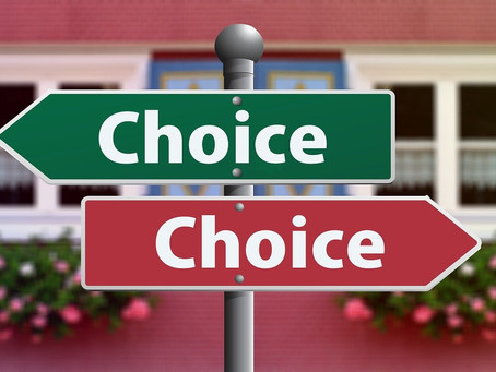 Deciding on the right path to take, without overthinking it