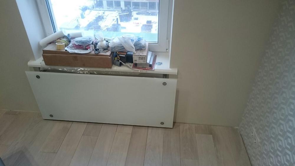 Стеклянные панели радиаторов