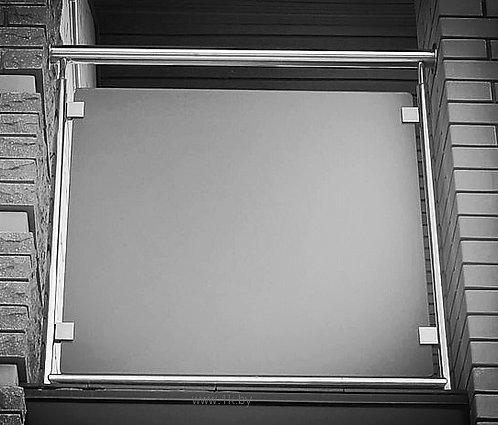 Заполнение стеклом на зажимах