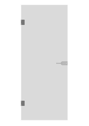 Стеклянная дверь №2»