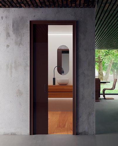 Раздвижная дверь с двойным остеклением