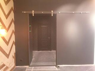 Раздвижная дверь в стиле лофт