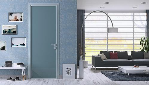 Распашная дверь с одинарным остеклением