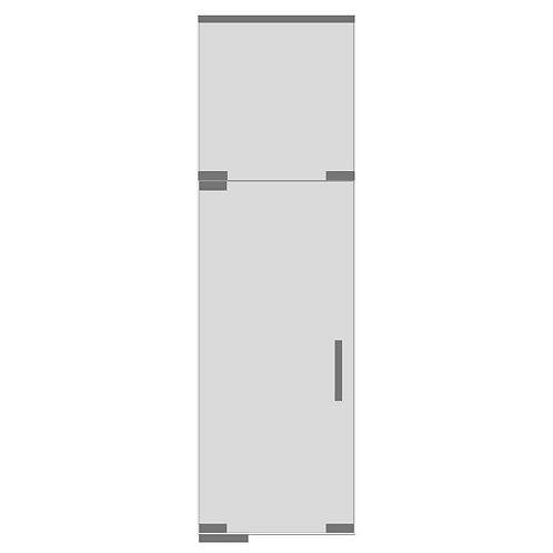 Дверь с фрамугой №5
