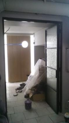Лофт дверь гармошка