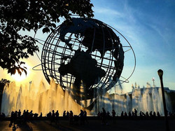 Queens, sometimes you are just the most magical place 😚😩 #OnlyInQueens #unisphere