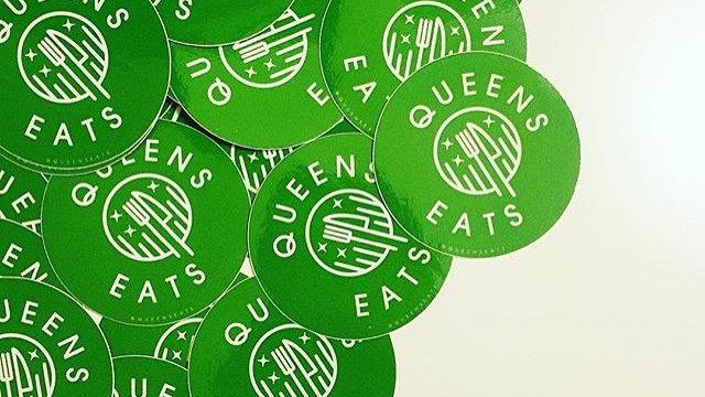 QueensEats Stickers