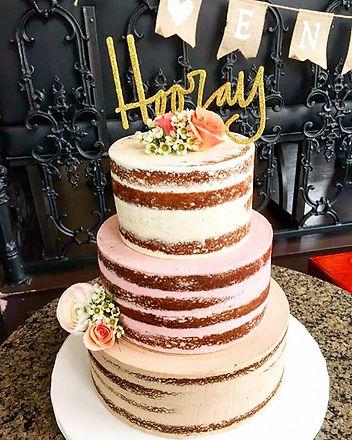 Cake by Aloria Cakes based in Astoria, NY