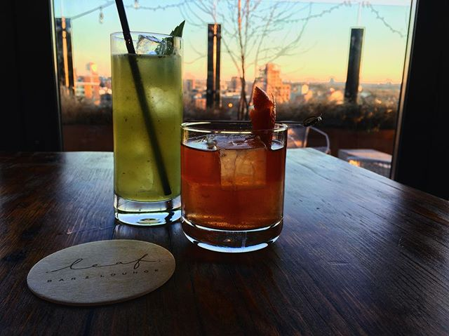 When it's five o'clock in #flushing 🍸on a beautiful day with your boo😘 One of our favorite spots i