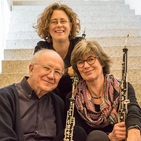 Oboentrio Heinz Holliger, Andrea Bischoff, Marie-Lise Schüpbach