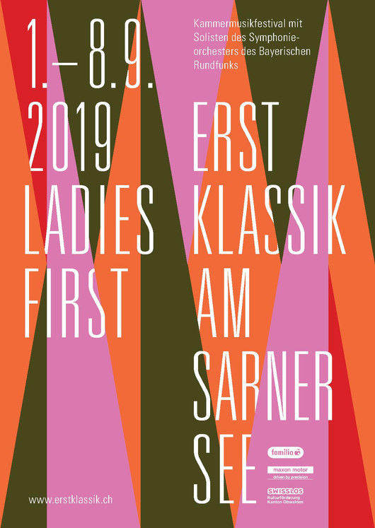 Programm Kammermusikfestival                     ERSTKLASSIK AM SARNERSEE 2019