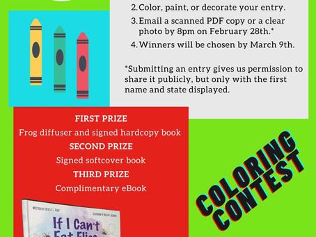 Enter Our Coloring Contest!