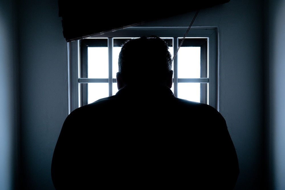 spouse incarcerated to serve divorce papers