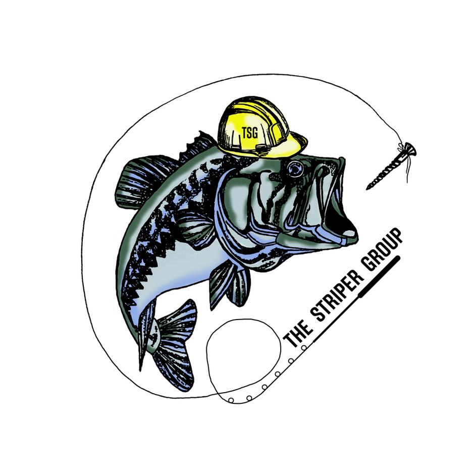 the striper group logo design
