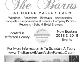New B&W Ad for The Barns