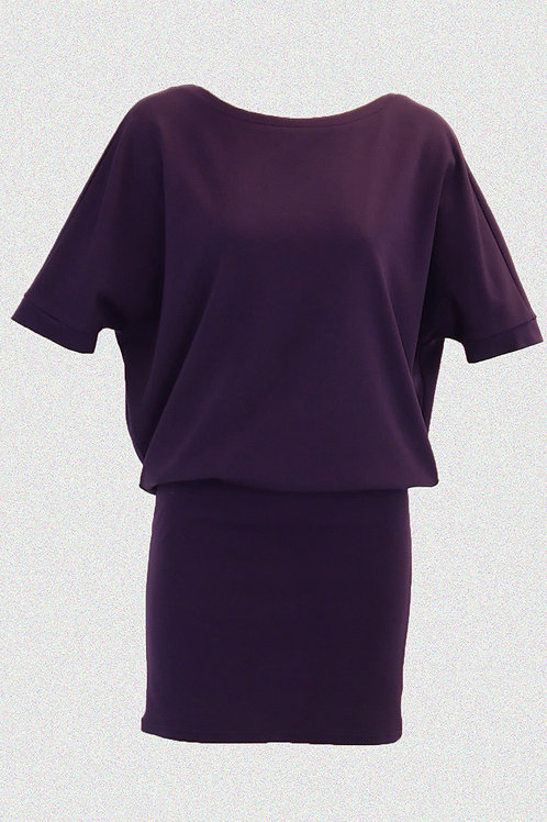 BAT DRESS lila