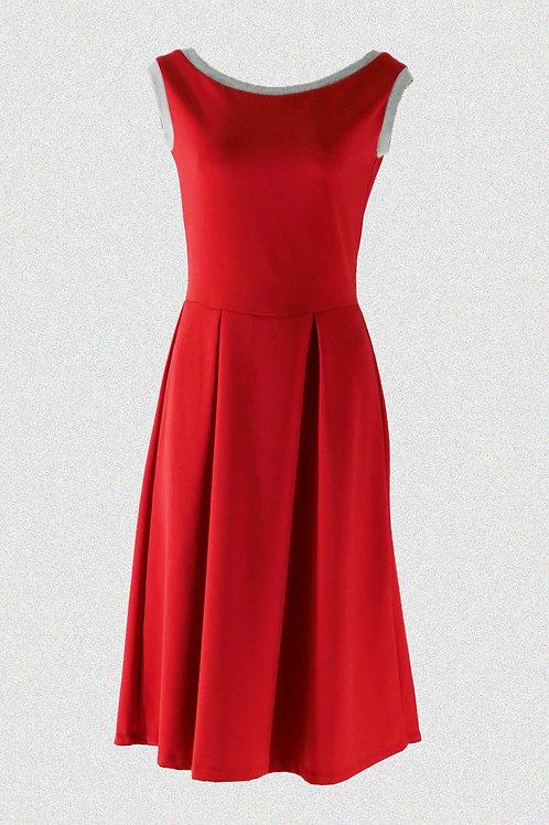 Kleid Carmen rot