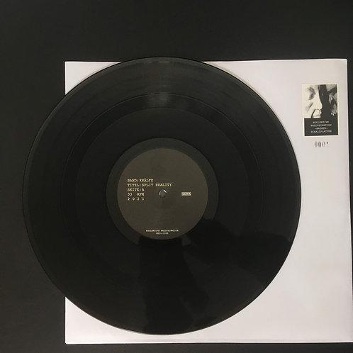 SPLIT REALITY 12'' vinyl inkl. Porto