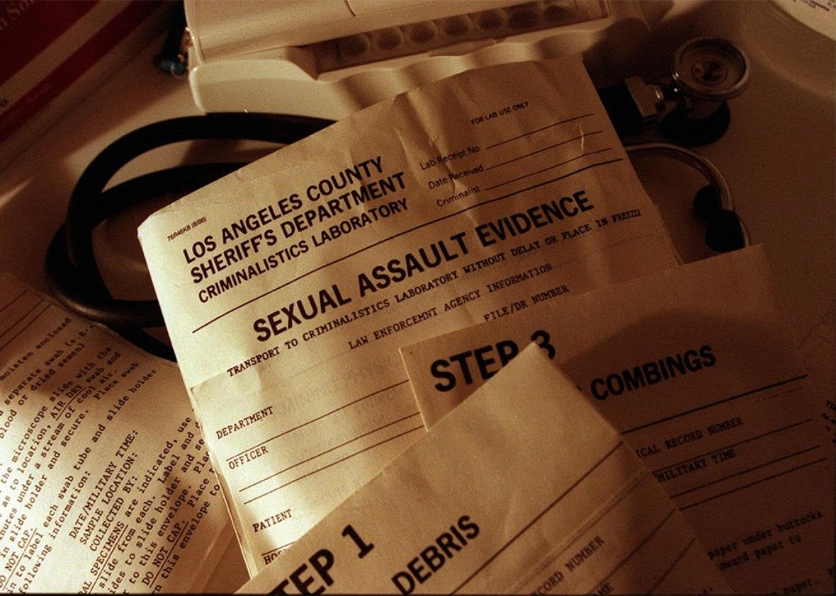 Evidence That Shouldn't Be Forgotten About: The Rape Kit Backlog in