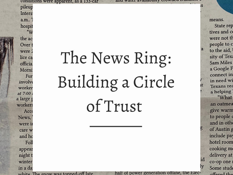 The News Ring: Building a Circle of Trust