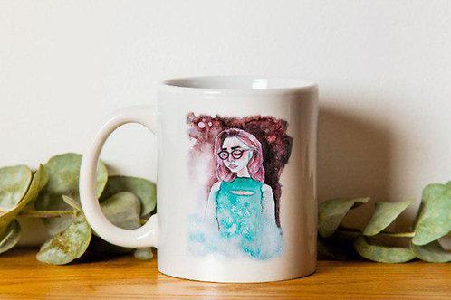 """Чашка """"Watercolor art. A"""""""