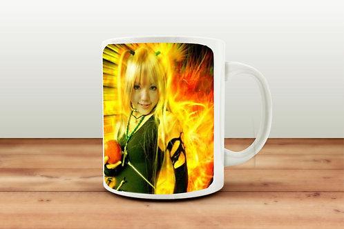 """Чашка """"Необузданное пламя"""", серия Kipi-san collection"""
