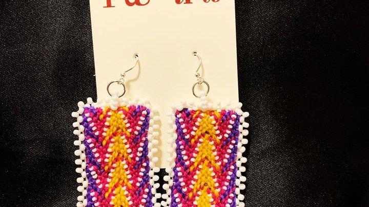 Warpface Double Arrowhead pink/yellow/purple