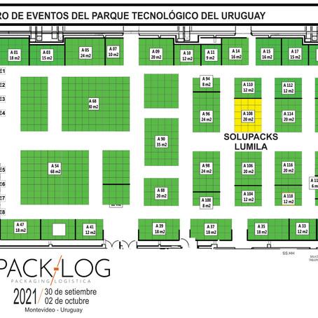 Lumila invita a visitar su stand en la Feria Pack-Log 2021