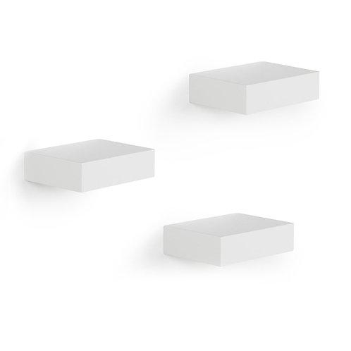 Showcase Floating Shelf Set of 3