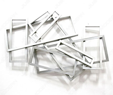 Silver Wall Sculpture