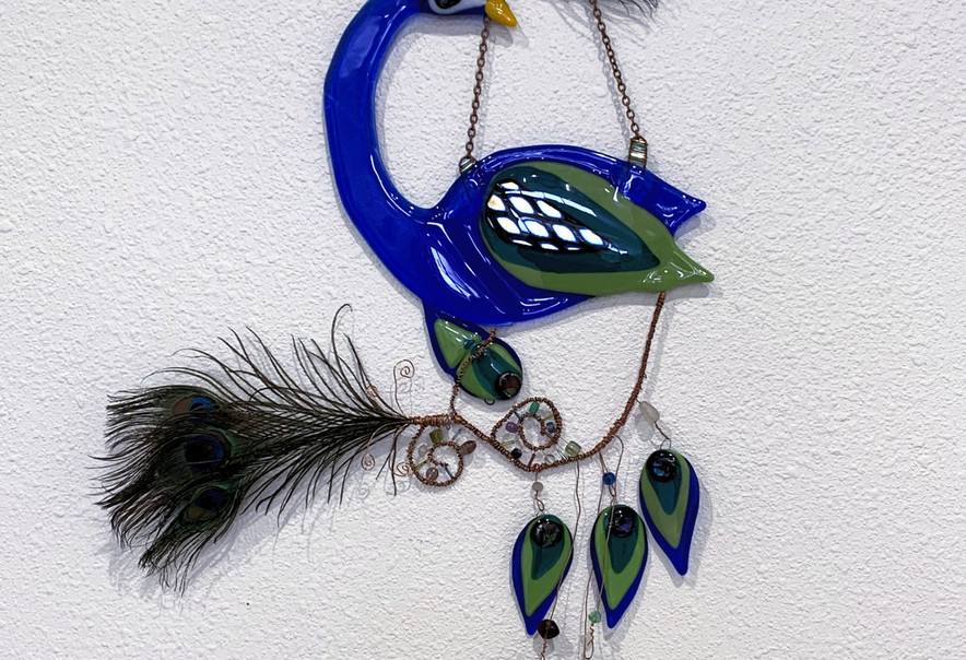 The Embellished Peacock
